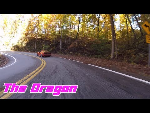 Tail of the Dragon | 370Z Chasing RX7