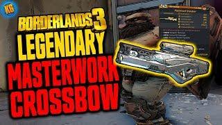 Download BORDERLANDS 3 | MASTERWORK CROSSBOW | Legendary Weapons Guide Video
