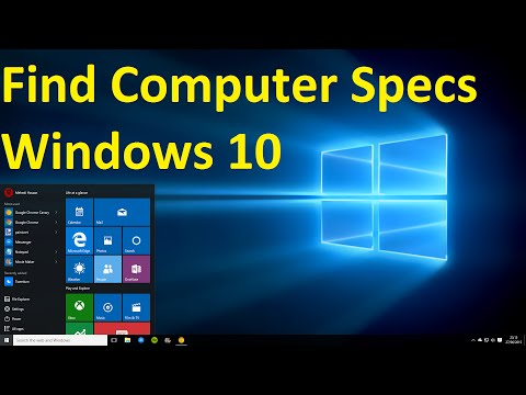 How to Check Your Computer Specs on Windows 10