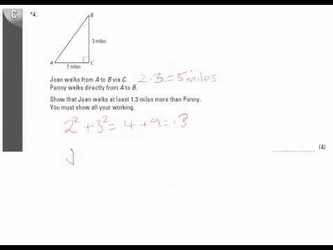 End of Unit Test - U20 Pythagoras Q4