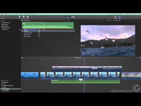 Learning iMovie 09: Adding Music & Sound Effects