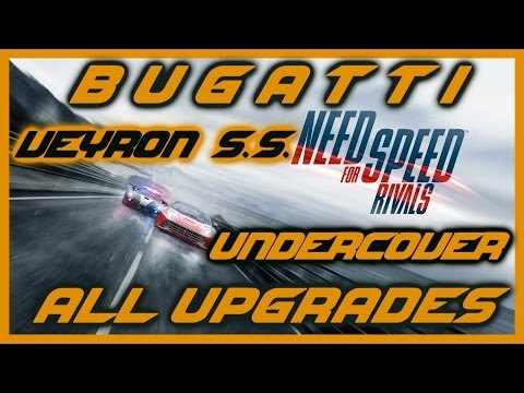 NEED FOR SPEED RIVALS PS4 | BUGATTI VEYRON SUPER SPORT FULLY UPGRADED | UNDERCOVER | HD
