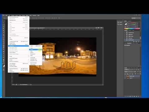 Create a Mirror Ball in your 360 x 180 Panorama - Tutorial