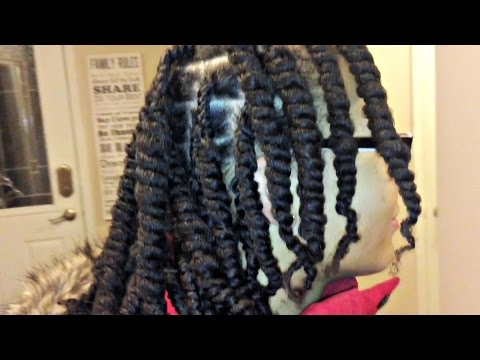 Simple Twists Outs Using Shea Butter | BeautyByChick
