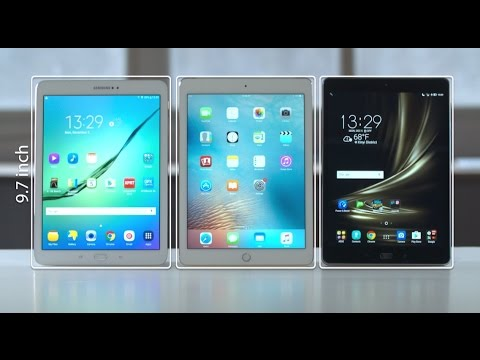 ZenPad 3S 10 vs iPad Air 2 vs Samsung Galaxy Tab S2 Tablet Comparison  | ASUS