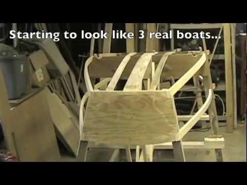 Building a plywood Optimist Pram (dinghy) - Part 4