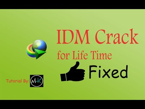 how to crack idm for life time and no need of serial key