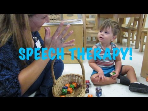 TODDLER SPEECH THERAPY!