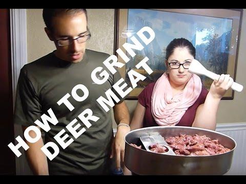 HOW TO GRIND DEER MEAT