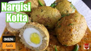 Nargisi Kofta Curry | Scotch Eggs Recipe by  (COOKING WITH ASIFA) - 85
