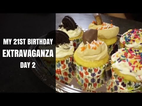 MY 21ST BIRTHDAY EXTRAVAGANZA || Day 2: Baking Party