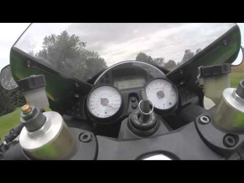 2009 Kawasaki ZX14 stock 0-186mph top speed acceleration