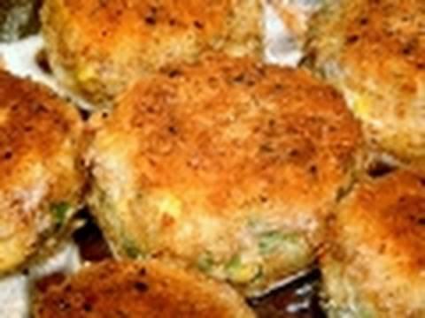 Prawn Cake recipe How to make cook fish cakes