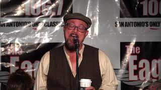 "Geoff Tate ""Eyes of a Stranger"" Acoustic in San Antonio at The Eagle 106.7"