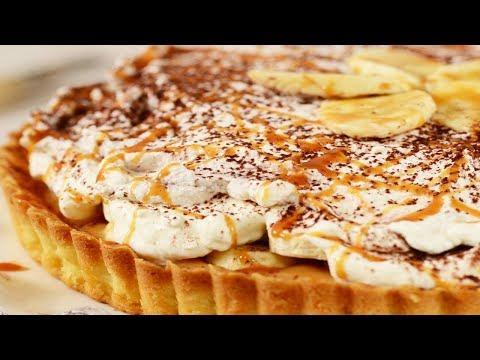 Banoffee Pie Recipe Demonstration - Joyofbaking.com