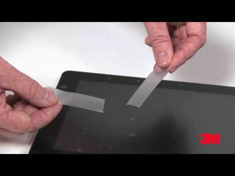 How To Remove Bubbles From Your Screen Protector - 3M™ Natural View Screen Protector