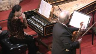 Johann Sebastian Bach Sonata For Violin And Harpsichord In C Minor Bwv 1017