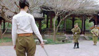 日本女武士太狂,竟揚言要打敗中國武士大師,3回合下來被全方位碾壓