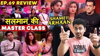 Bigg Boss 13 Review EP 69   Salman Khan ANGRY On Contestants   Arhaan-Rashmi MATTER   BB 13 Video