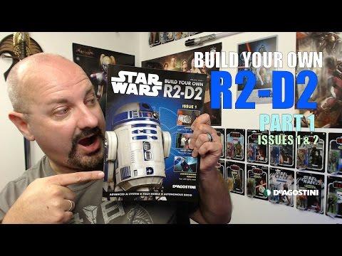 TEST BUILD Deagostini's Build Your Own R2-D2 - Parts 1 & 2
