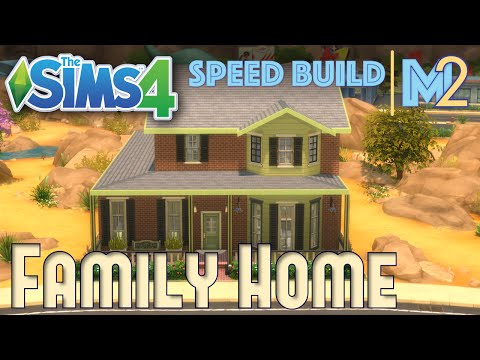 Sims 4 Speed Build - Family Home