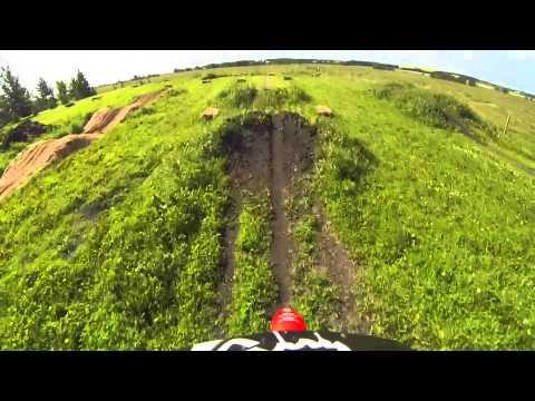 Backyard Dirtbike Track Practice