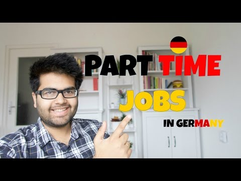 Finding Part Time Jobs in Germany