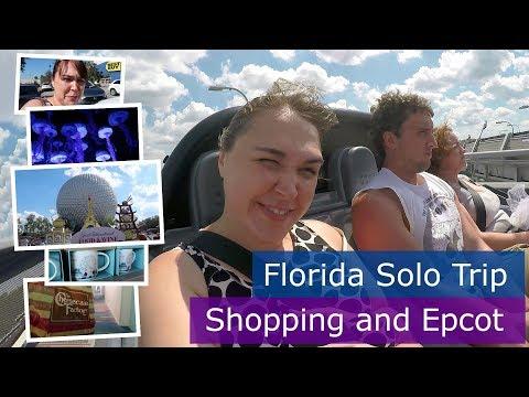 Day 10 | Shopping and Epcot | Walt Disney World solo trip | Florida 2017