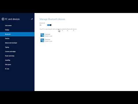 Windows 8.1 Tutorial - How to Connect Bluetooth Speakers & Devices