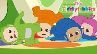 Teletubbies ★ NUEVOS Dibujos Animados de Tiddlytubbies ★ Ep 4: Sleep Mat Carousel ★ Para Niños
