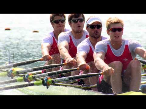 The body of a rower