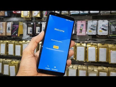 How to Bypass Google Account ID OnePlus 5T A5010, 5000