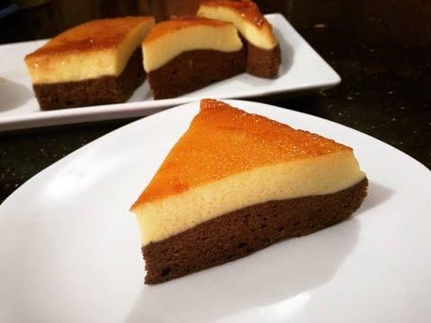 চুলায় তৈরী পুডিং কেক।। Pudding cake ।। Cake Pudding || Chocoflan Cake/চকোফ্ল্যান কেক