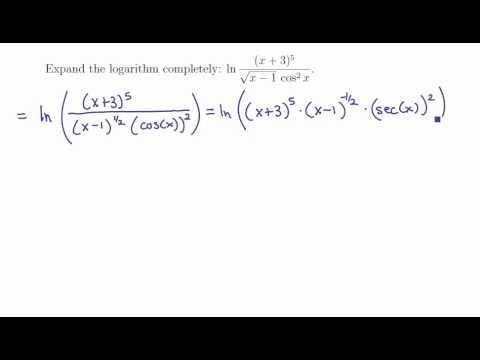 3. Natural logarithm 1