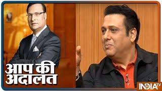Aap Ki Adalat: Govinda opens up on his fallout with David Dhawan