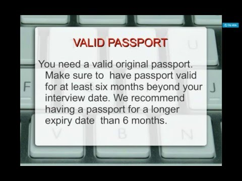 H1b Stamping at the US Consulate.- Documents Required & Tips