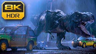 T-Rex Entry Scene (Jurassic Park) ● 8K HDR ● DTS X