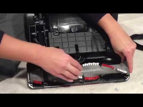 Changing the Belt CleanView Vacuum with One Pass Technology