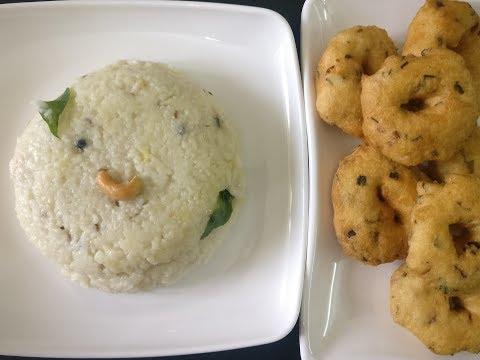 Varagu Arisi Pongal recipe | Kodo millet pongal | how to make millet pongal | Video 10 - Food Time