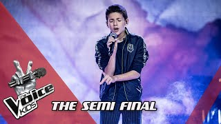 Max - Scars To Your Beautiful | The Semi Final | The Voice Kids | VTM