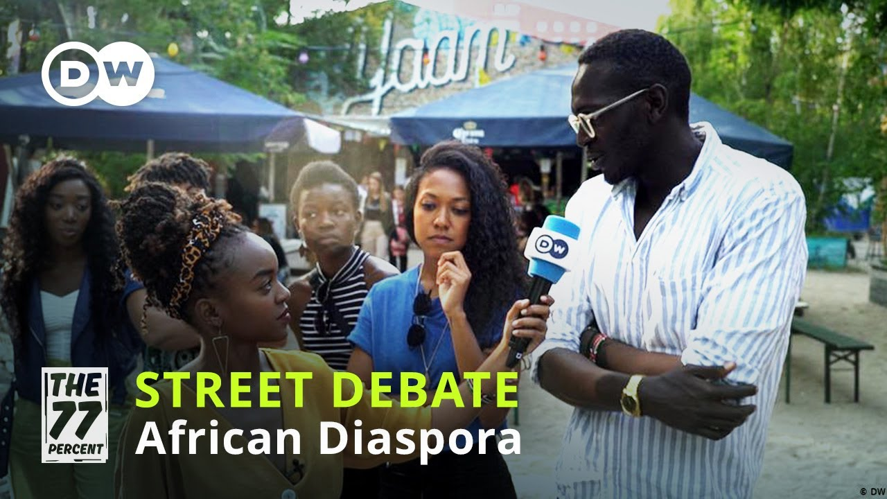 What is the experience of the African diaspora in Germany?   Stories of Africans living in Berlin