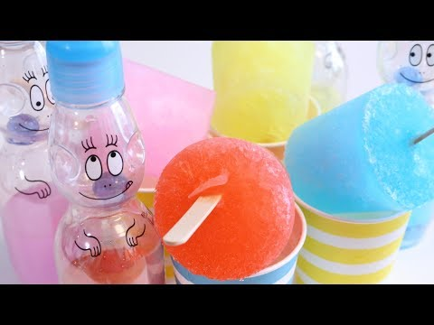 【ASMR】How to make Popsicle without a mold【Cooking Hacks】