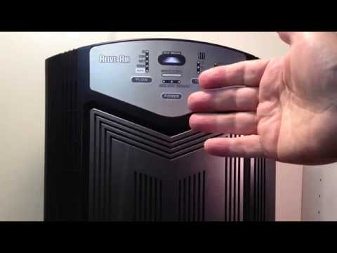 Alive Air Purifier - Setup and Control Panel 2018