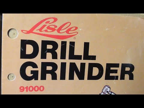 Sharpening Drill Bits Lisle Grinder TIPS #466 pt1 tubalcain