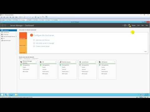Set up a VPN Server in Windows Server 2012 R2 ( Client to Site )