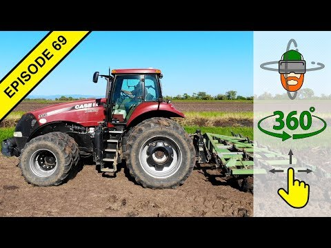 How to Drive a Tractor in Virtual 360º Action!