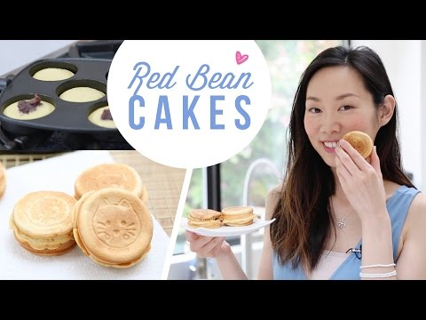 How to Make Red Bean Cakes (紅豆餅) | Red Bean Dessert