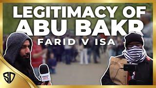 Legitimacy of Abu Bakr Debate - Farid v Isa