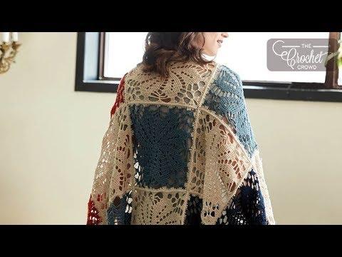 How to Crochet A Pinwheel Shawl