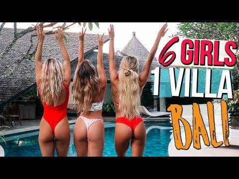 6 GIRLS 1 VILLA IN BALI